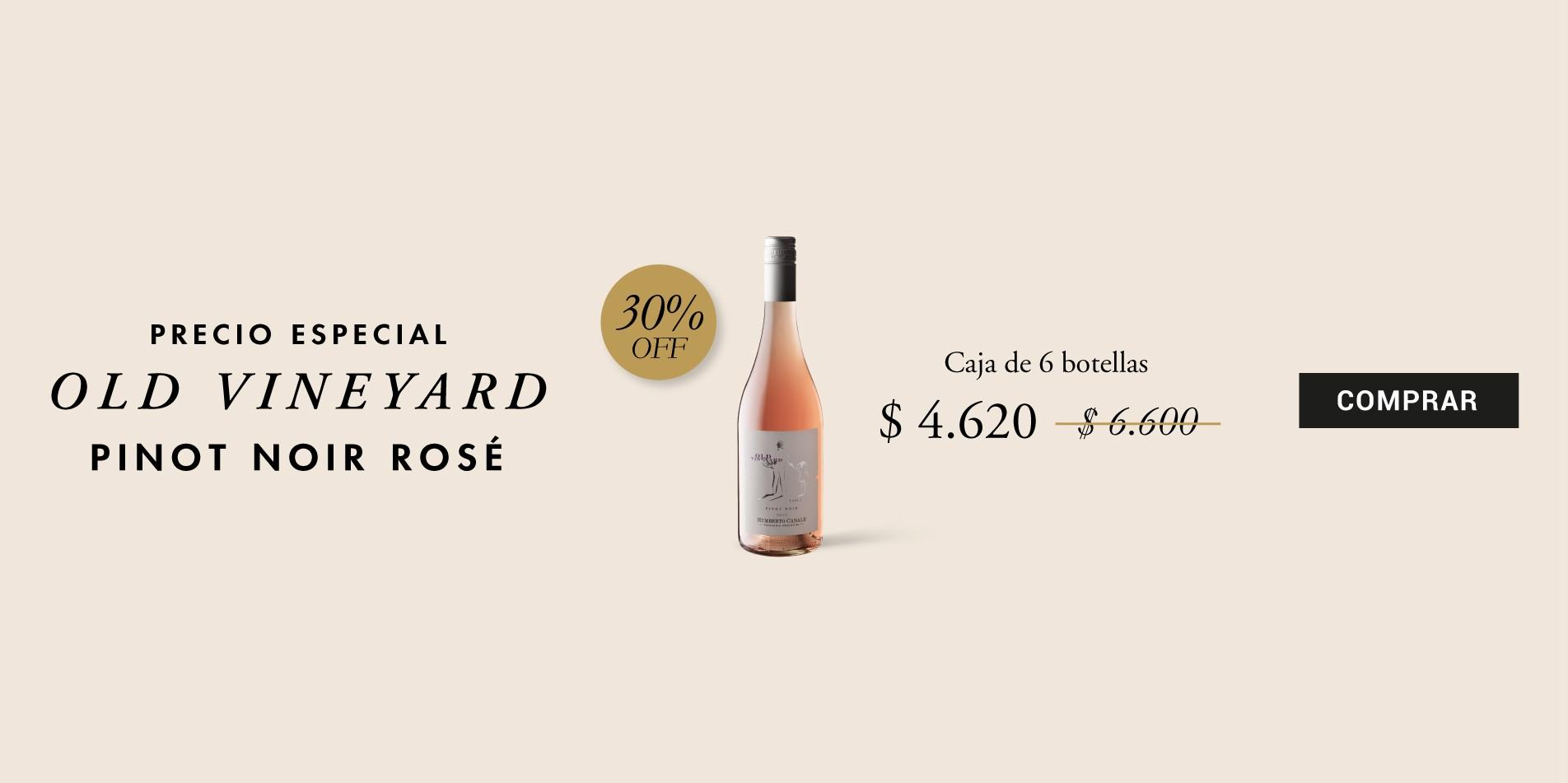 Pinot Noir Rosé 30% Off