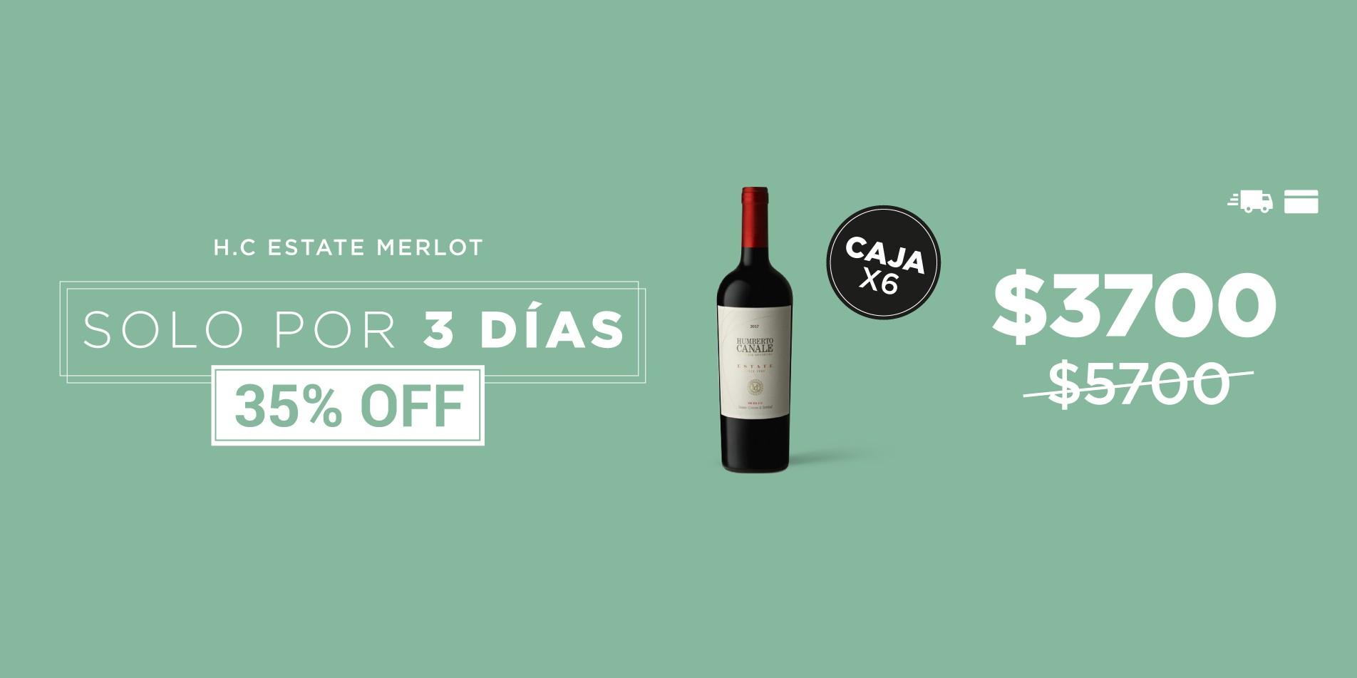 Merlot Estate 35% OFF